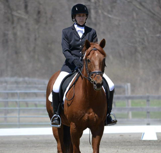 Jana and Colby in competition